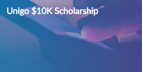 Unigo $10,000 Scholarship (Due: 03-31-21)