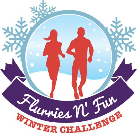 Ready Set Run's Winter Challenge logo.