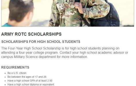 Army ROTC Scholarship (Due: 02-04-21)