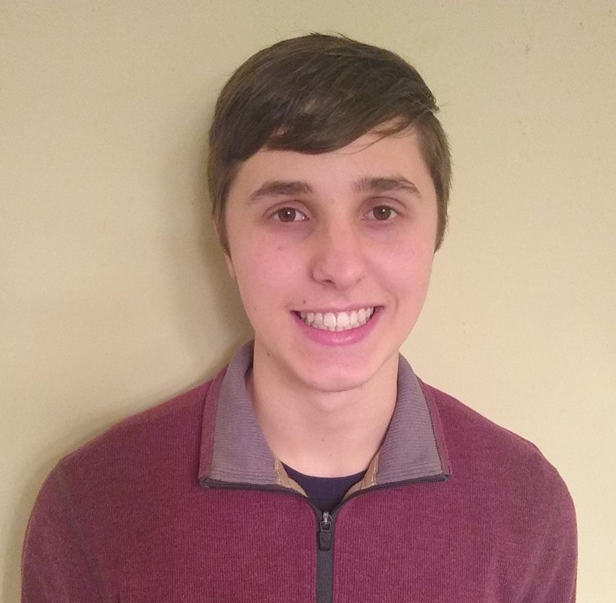Essay contest participant and third place winner, Jacob Mohring, is pictured.