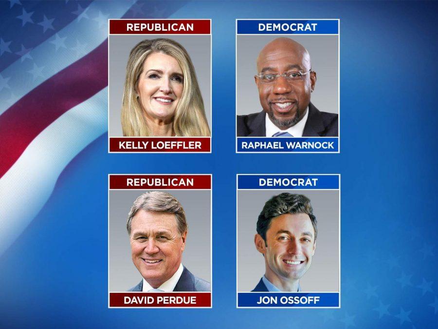 Democrats, Raphael Warnock and Jon Ossoff, win Georgia Run-off, making Warnock the first black senator of Georgia.