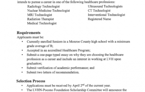 Dr. Elmo Memorial Healthcare Scholarship (Due: 04-02-21)