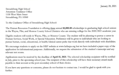 Human Resources Foundation Scholarship (Due: 04-15-21)