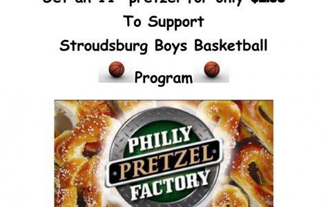 Boys Basketball Pretzel Fundraiser: 2/22/21- 2/26/21