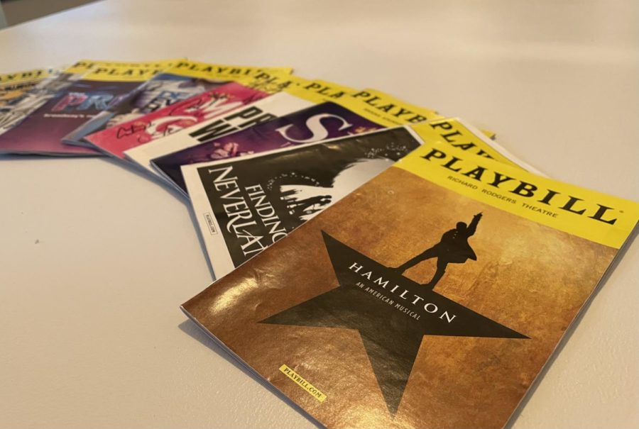Pre-pandemic, people had to opportunity to go see Broadway shows live and collect their Playbills.