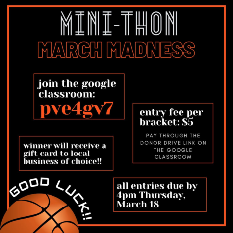Mini-THON March Madness: 3/18/21 (4 P.M.)