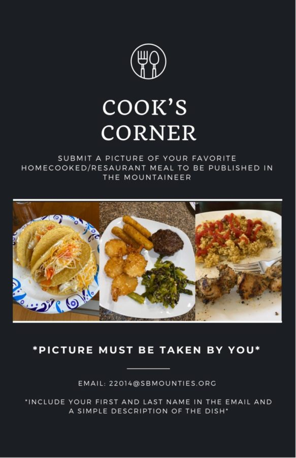 Cook's Corner: Submit a Photo of Your Favorite Meal!