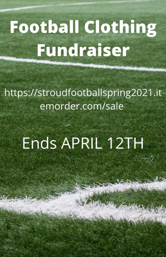 Stroudsburg Football Fundraiser: 4/12/21