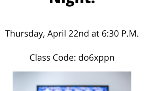 SHS Student Government Game Night: 4/22/21 (6:30 P.M.)