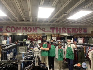 SHS clothing store, Common Threads, is open and offering great deals