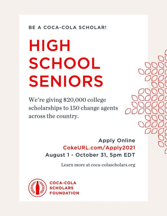 Coca-Cola Scholarships (10-31-21)