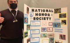Photo of Rosen Ayvazova, member of the National Honor Society, volunteering at the activities fair on Friday the 8th. Photo via Matthew Trezza.